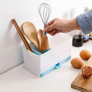 Utensils holder candy rack sponge basket wash shelf dry cutlery drainer tidy sink organizer kitchen tools storage organizer