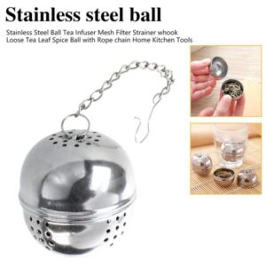 1 pcs Ball Tea Infuser Stainless Steel