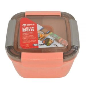 Dual Color Plastic Lunch Box