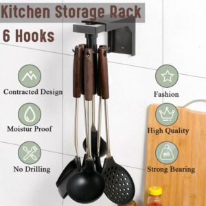 360 rotation kitchen storage hooks