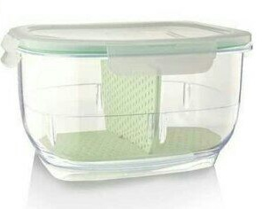 Acrylic Partition Storage Box small