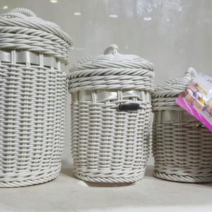 3 Pieces Bamboo Baskets