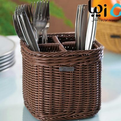 Lelon Square Cutlery Holder